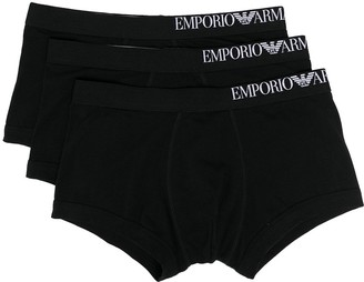 Emporio Armani Logo Waistband Boxers