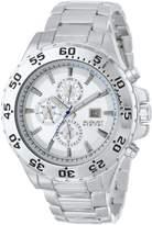August Steiner Men's AS8071SS Swiss Multi-Function -Tone Dial Bracelet Watch