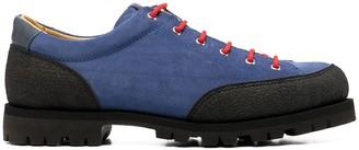 Paraboot Montana colour-block derby shoes