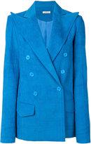 Nina Ricci oversized pointed lapel blazer - women - Cotton - 34