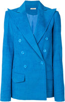 Nina Ricci oversized pointed lapel blazer