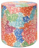 Missoni Home Tamarindo Tall Cylinder Cotton Blend Pouf