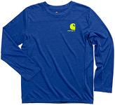 Carhartt Surf the Web Heather Force Logo Tee - Boys