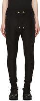 Balmain Black Perforated Lounge Pants