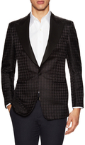 Tom Ford Silk Houndstooth Jacquard Blazer