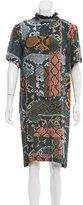 Preen Line Printed Shift Dress