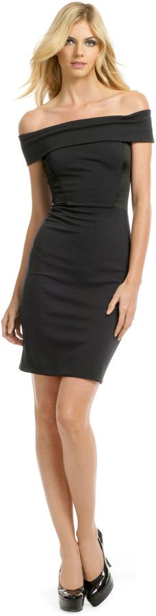 Halston Black Eclipse Dress