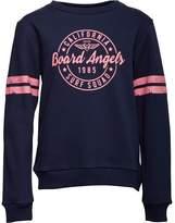 Board Angels Girls Crew Neck Sweatshirt Navy