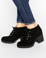 London Rebel Eyelet Lace Up Boots