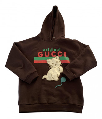 Gucci Brown Cotton Knitwear