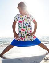 Boden Colourblock Swing Dress
