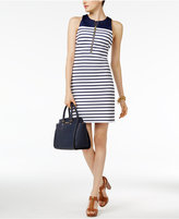 MICHAEL Michael Kors Norwood Striped Sheath Dress