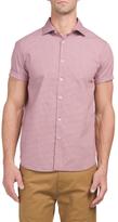 Ditsy Print Button Down Shirt