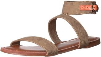 Roxy Women's Marron Ankle Strap Sandals Flat