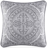 "J Queen New York Colette Silver 18"" x 18"" Decorative Pillow"