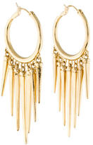 Rachel Zoe Spike Hoop Earrings