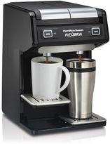 Hamilton Beach FlexBrew Dual Single-Serve Coffee Maker