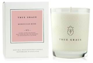 True Grace - Village Candle - Moroccan Rose - white - White/White