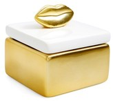 Shiraleah Lips Trinket Box - Metallic