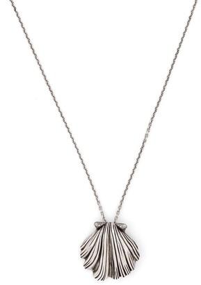 Saint Laurent Shell Pendant Necklace