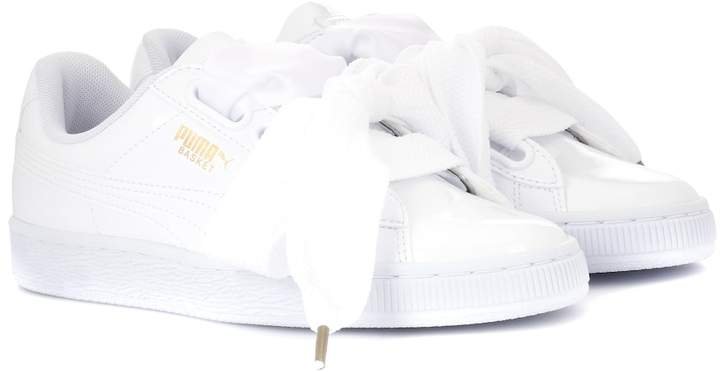 code promo 34c26 363ae Basket Heart patent sneakers