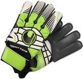 Uhlsport ELIMINATOR SOFT GRAPHIT Goalkeeping gloves schwarz/blau/power grün