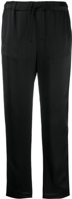 Semi-Couture Cropped Trousers