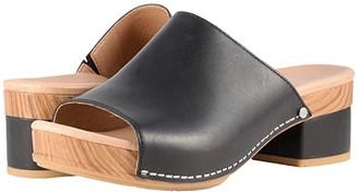 Dansko Maci (Black Full Grain) Women's Sandals
