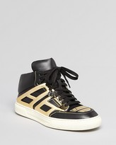 Alejandro Ingelmo Lace Up High Top Sneakers - Tron