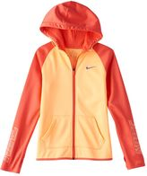 Nike Girls 7-16 Therma Dri-FIT Logo Graphic Hoodie