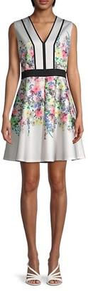 Ted Baker Floral A-Line Dress