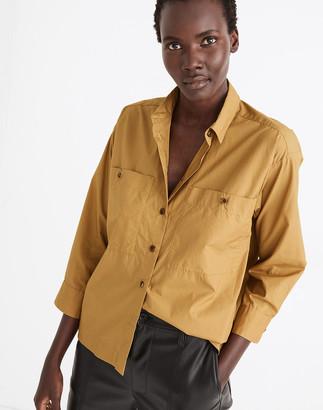 Madewell Boxy Workwear Shirt