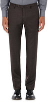 Incotex Men's S-Body Slim-Fit Wool-Cashmere Trousers-BROWN