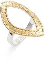 Anna Beck Women's 'Open Shield' Vermeil Ring
