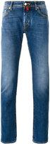 Jacob Cohen faded regular fit jeans