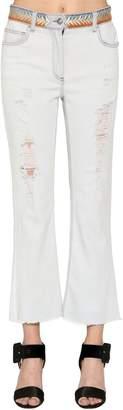 Etro Cotton Denim Cropped Jeans