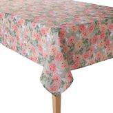 Laura Ashley Floral Bloom Tablecloth