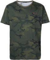 The Upside camouflage print Jack T-shirt - men - Cotton - XS