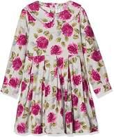 Rachel Riley Girl's Rose Flannel Dress