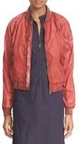 Tomas Maier Women's Weathered Nylon Bomber Jacket