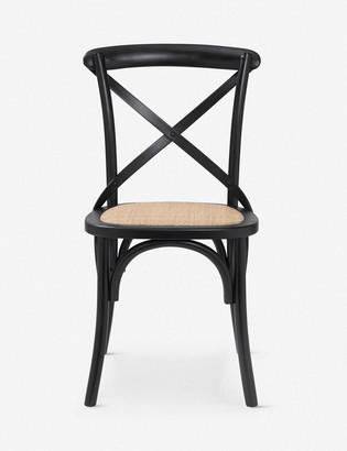 Lulu & Georgia Jules Dining Chair, Black (Set of 2)