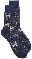 Etro christmas socks - men - Cotton/Polyamide/Spandex/Elastane - II