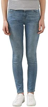 Esprit Women's 996EE1B918 Jeans, Blue (BLUE LIGHT WASH), W28/L34