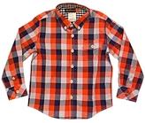 Ben Sherman Kid's Red Rupert Check Shirt