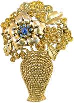 One Kings Lane Vintage 1930s Floral Urn Brooch