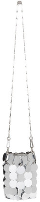 Paco Rabanne Silver Mini Sparkle Shoulder Bag