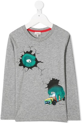 Paul Smith King Kong long-sleeved T-shirt