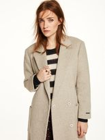 Scotch & Soda Soft Wrap-Over Coat