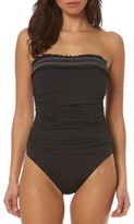 Bleu Rod Beattie Women's Bleu By Rod Beattie Strapless One-Piece Swimsuit