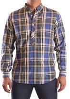 Jeckerson Men's Multicolor Cotton Shirt.